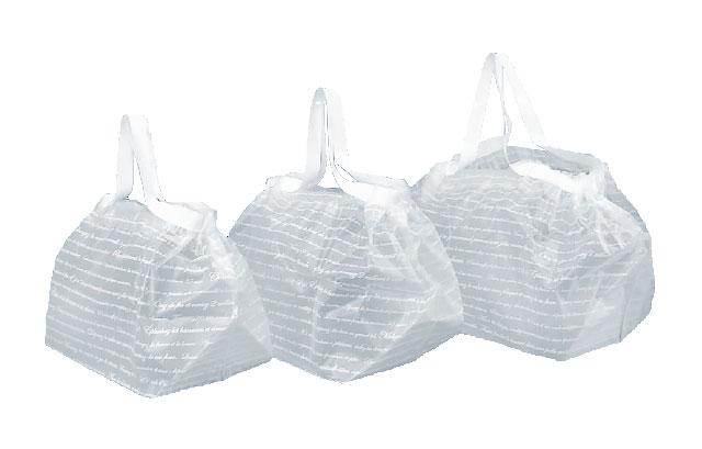 楕円抜き袋、フィンバッグ、サイドバッグ